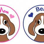 Get your orders (and payments in this week!) for Beagle mom/dad clothing