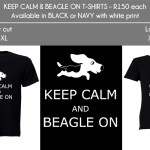 Order your 2013 beagle branded clothing now!