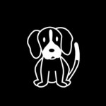 New Beagle Stickers NOW IN STOCK
