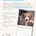 Last chance to order 2015 Beagle Calendar