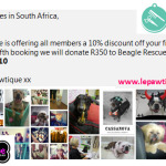 Le Pawtique grooming offer