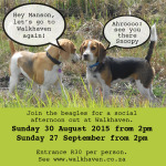 Walkhaven Dates – Aug Sep