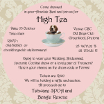 Formal High Tea Fundraiser